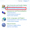 Activar Control Parental en Windows 7