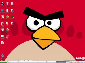 Theme windows 7 Angry bids