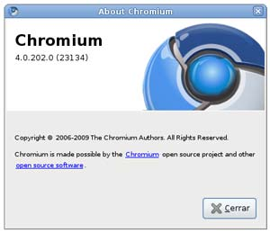 Chromium, alternativa a chrome