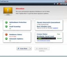 FortiClient Lite, un antimalware freeware