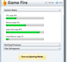 GameFire, optimizar tu PC para jugar juegos