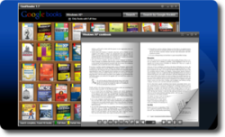 GooReader, leer libros de Google Books en PC