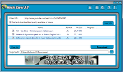 Movie Saver, descargar vdeos de YouTube en FLV