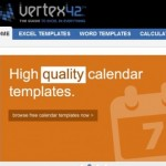 Vertex 42, obtn plantillas gratis para Word y Excel