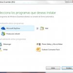 Las novedades de Windows Essentials 2012