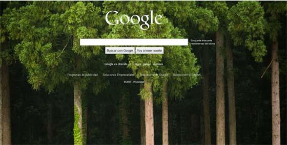Cambiar la imagen de fondo de Google